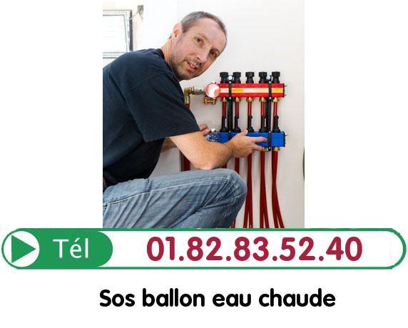 Changement Ballon eau Chaude Margency 95580