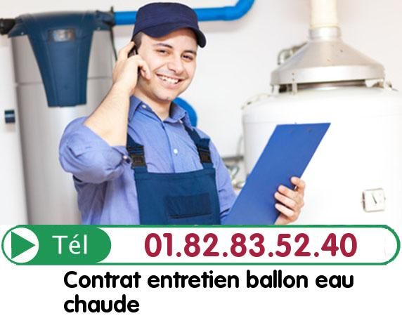 Depannage Ballon eau Chaude FONTAINE CHAALIS 60300