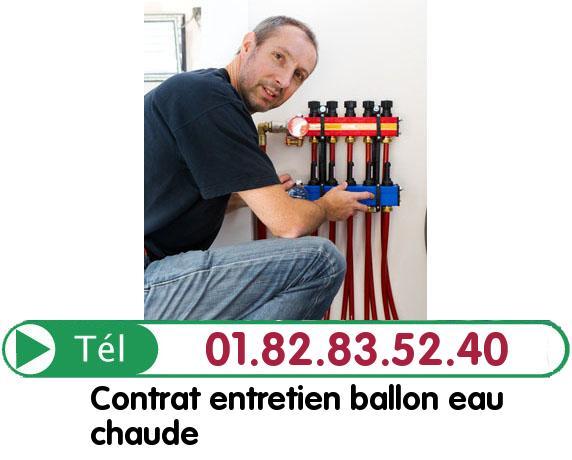 Depannage Ballon eau Chaude Gazeran 78125