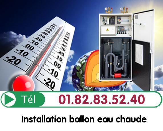 Depannage Ballon eau Chaude GLAIGNES 60129