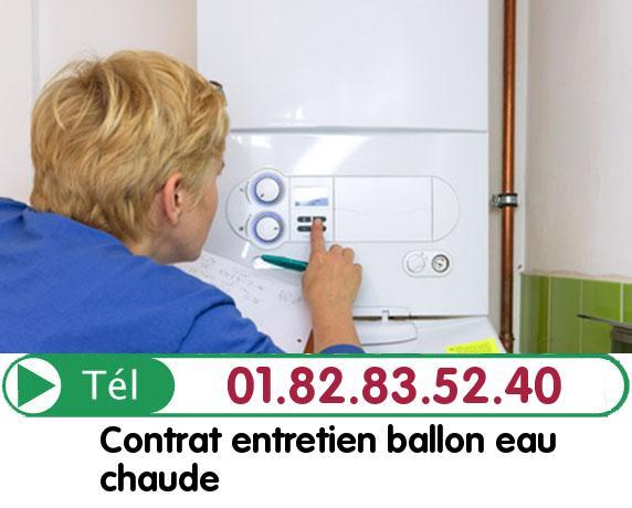 Depannage Ballon eau Chaude MUIRANCOURT 60640
