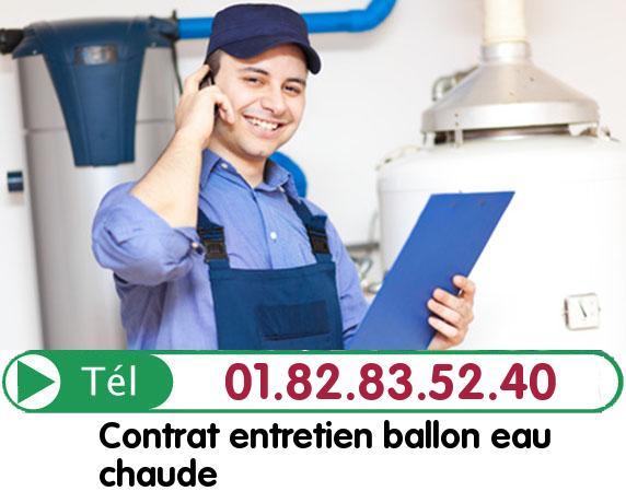 Fuite Ballon eau Chaude Asnieres sur Oise 95270