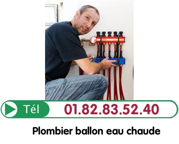 Fuite Ballon eau Chaude Bruyeres sur Oise 95820