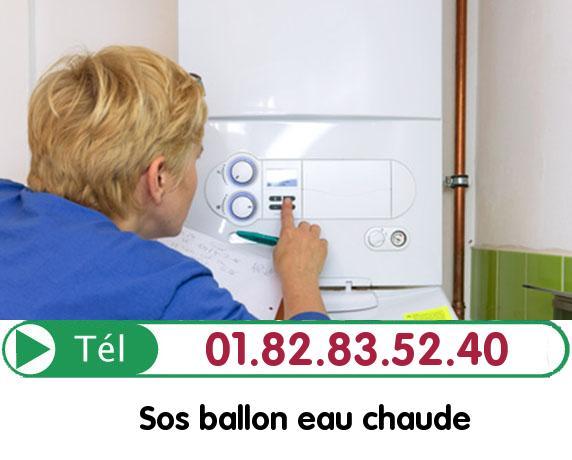 Fuite Ballon eau Chaude CHANTILLY 60500