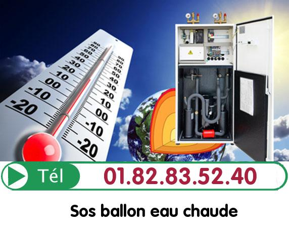 Fuite Ballon eau Chaude CREVECOEUR LE GRAND 60360