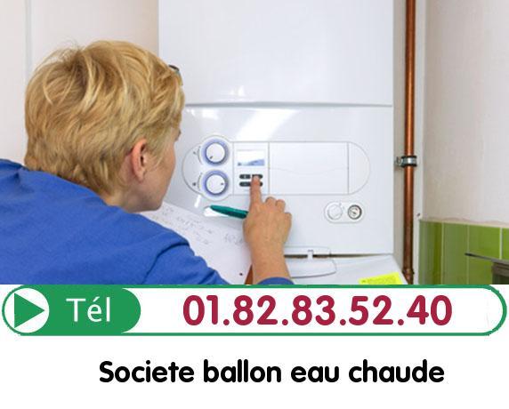 Fuite Ballon eau Chaude DAMERAUCOURT 60210