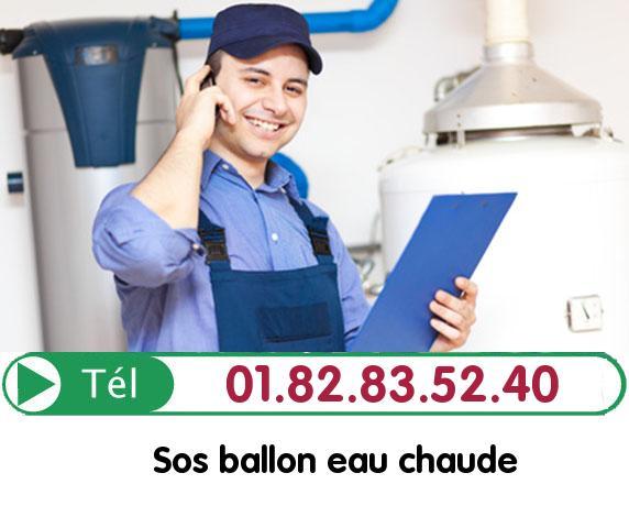 Fuite Ballon eau Chaude DARGIES 60210