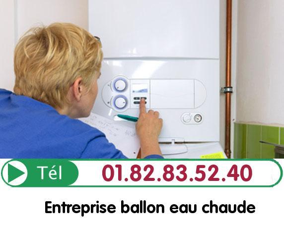 Fuite Ballon eau Chaude La courneuve 93120