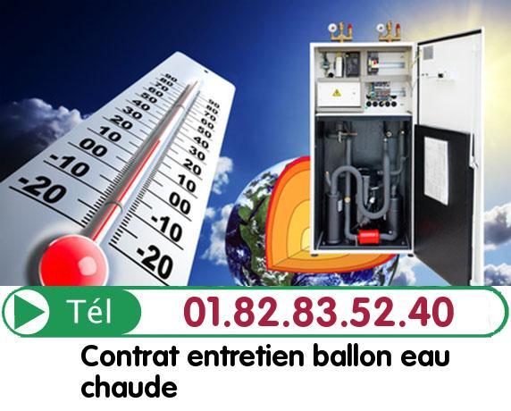 Fuite Ballon eau Chaude LE COUDRAY SUR THELLE 60790