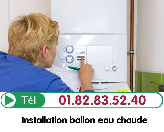 Fuite Ballon eau Chaude Nucourt 95420