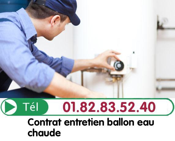 Fuite Ballon eau Chaude ORVILLERS SOREL 60490
