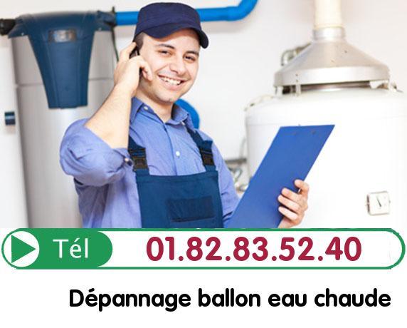 Fuite Ballon eau Chaude Paris 1
