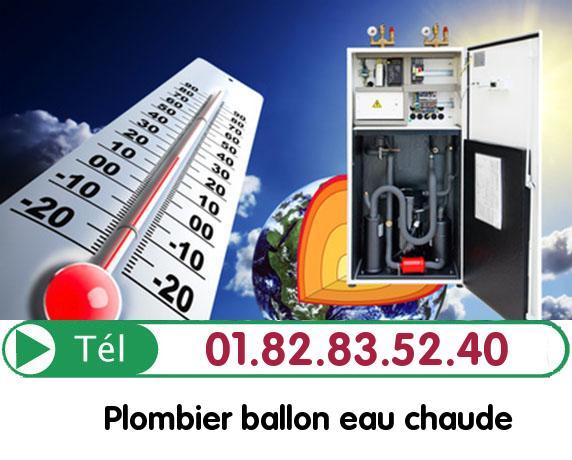 Fuite Ballon eau Chaude Paris