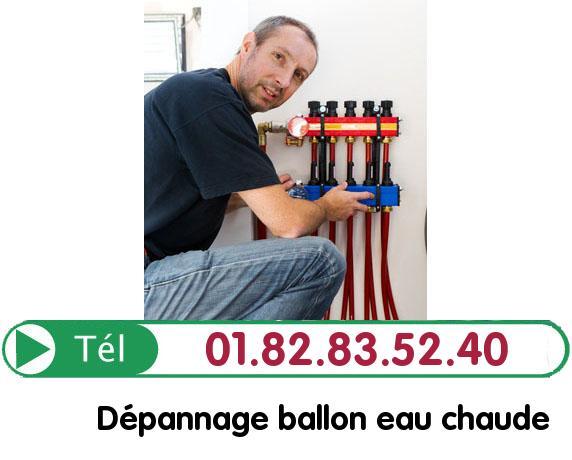 Fuite Ballon eau Chaude Richebourg 78550