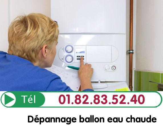 Fuite Ballon eau Chaude SAINT VALERY 60220