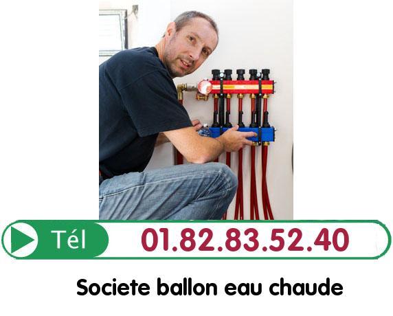 Fuite Ballon eau Chaude Val-d'Oise