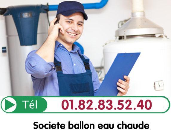 Fuite Ballon eau Chaude Vaux sur Seine 78740