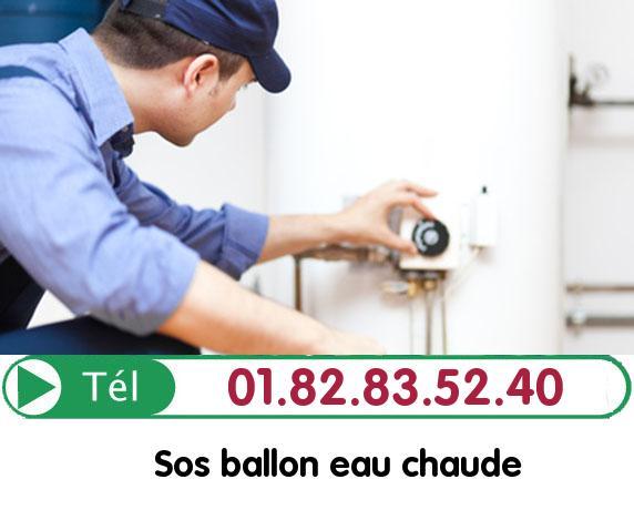 Fuite Ballon eau Chaude Villaines sous Bois 95570